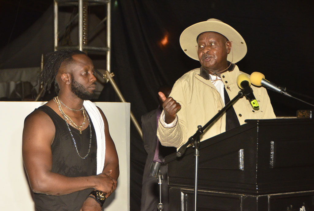 Bebe Cool says Sevo is to win 2021 elections easily