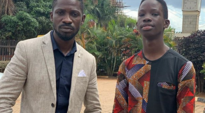 """Bobi Wine's Son writes Emotional letter; """"Dad press Hard, I want to Return as First Son"""""""